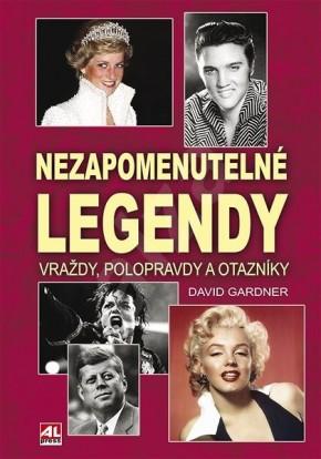 Odhalení tajemství smrti slavných osobností přináší kniha Nezapomenutelné legendy